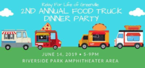 2nd Annual Food Truck Dinner Party @ Riverside Park Amphitheater