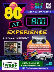 Eighties Experience @ WGRP