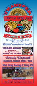Live Broadcast! 142nd Transfer Harvest Home Fair @ Kiwanis Community Park