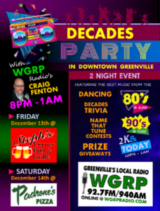 Decade's Party @ Steph's Corner Pub & Grille